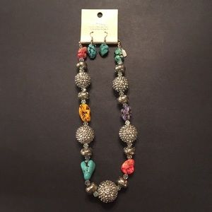 Jewelry - Fashion necklace and earrings